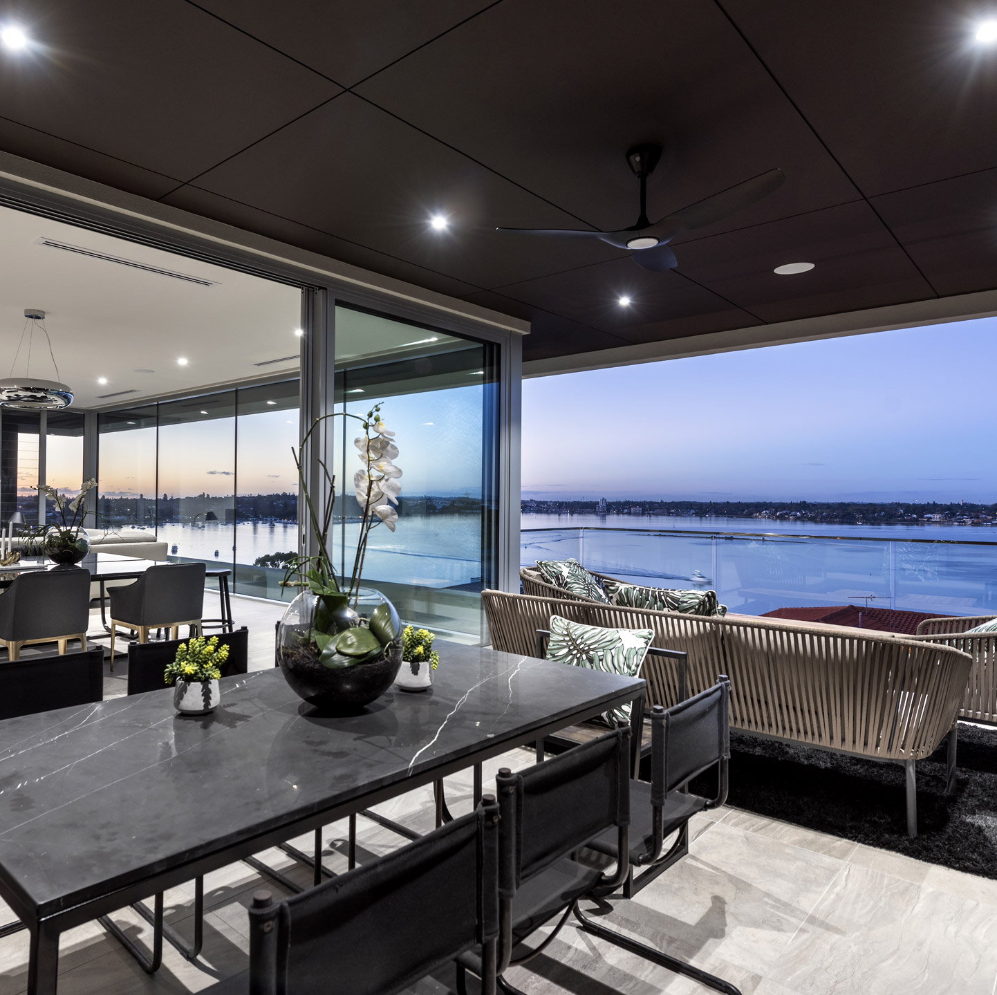View of a table inside Mosman Park home
