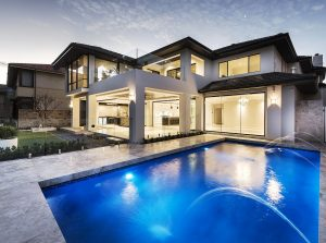 Outer view of mosman home by Zorzi home builders